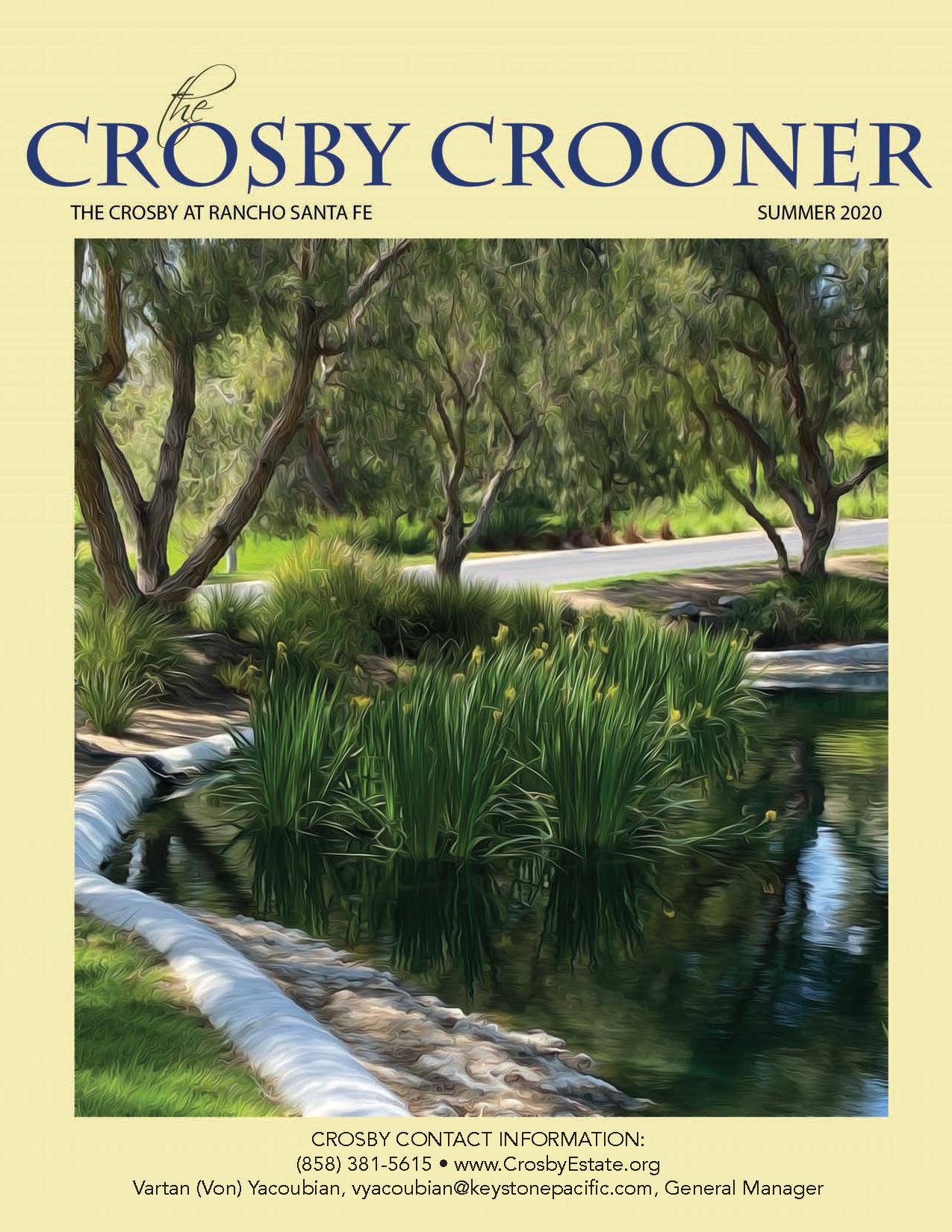 Summer 2020 Crosby Crooner Cover